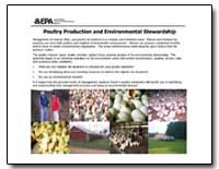 Poultry Production and Environmental Ste... by Environmental Protection Agency