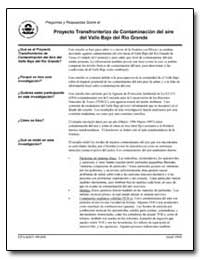 Proyecto Transfronterizo de Contaminacio... by Environmental Protection Agency