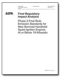 Final Regulatory Impact Analysis Phase 2... by Environmental Protection Agency