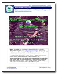 Watershed Academy Wed by Environmental Protection Agency