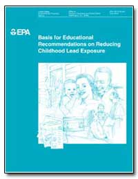 Basis for Educational Recommendations on... by Environmental Protection Agency