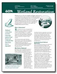 Wetland Regulatory Authority by Environmental Protection Agency