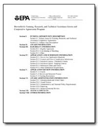 Brownfields Training, Research, And Tech... by Environmental Protection Agency