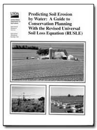 Predicting Soil Erosion by Water a Guide... by Renard, K. G.