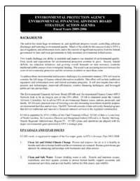 Environmental Protection Agency Environm... by Environmental Protection Agency