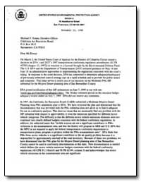 United States Environmental Protection A... by Howekamp, David P.