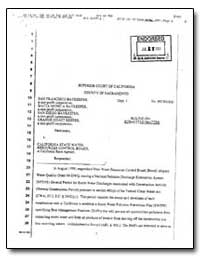 Superior Court of California County of S... by Environmental Protection Agency