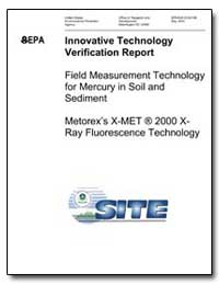 Innovative Technology Verification Repor... by Environmental Protection Agency