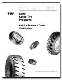 State Scrap Tire Programs by Environmental Protection Agency