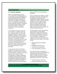 Overview : Increasing Expectations for M... by Environmental Protection Agency