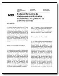 Folleto Informativo de Sistemas Descentr... by Environmental Protection Agency