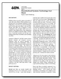 Decentralized Systems Technology Fact Sh... by Environmental Protection Agency