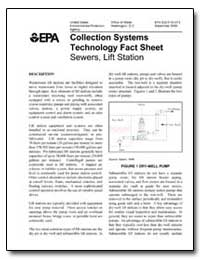 Collection Systems Technology Fact Sheet by Environmental Protection Agency
