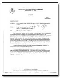 United States Environmental Protection A... by Tsirigotis, Margo