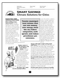 Smart Savings Climate Solutions for Citi... by Environmental Protection Agency