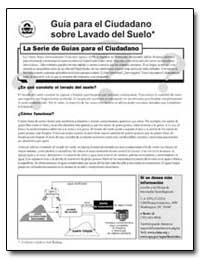 Guia para El Ciudadano Sobre Lavado Del ... by Environmental Protection Agency