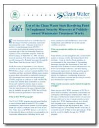 Use of the Clean Water State Revolving F... by Environmental Protection Agency