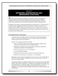 Optimizing Operation, Maintenance, And R... by Environmental Protection Agency