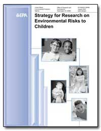 Strategy for Research on Environmental R... by Environmental Protection Agency