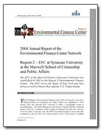 2004 Annual Report of the Environmental ... by Environmental Protection Agency