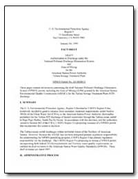 U.S. Environmental Protection Agency Reg... by Environmental Protection Agency