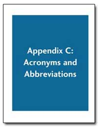 Appendix C : Acronyms and Abbreviations by Environmental Protection Agency