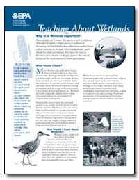 Teaching about Wetlands by Environmental Protection Agency