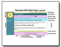 Standard Epa Web Page Layout by Environmental Protection Agency