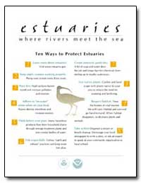 Ten Ways to Protect Estuaries by Environmental Protection Agency