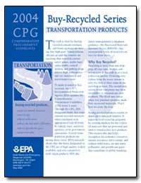 Buy-Recycled Series Transportation Produ... by Environmental Protection Agency