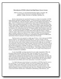 Mineralization of Mtbe in Bench-Scale Hi... by Venosa, Albert D.