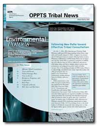 Oppts Tribal News by Lauterbach, Mary