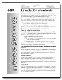 La Radiacion Ultravioleta by Environmental Protection Agency