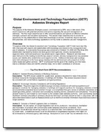 Global Environment and Technology Founda... by Environmental Protection Agency
