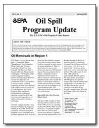 Program Update the U.S. Epas Oil Program... by Environmental Protection Agency