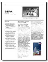 This Special Issue - Freshwater Spills S... by Environmental Protection Agency