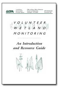Volunteer Wetland Monitoring by Environmental Protection Agency
