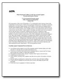 What Wastewater Utilities Can Do Now to ... by Environmental Protection Agency