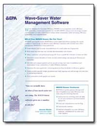 Wave•Saver Water Management Software by Doyle, James