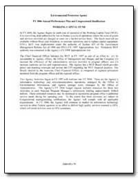 Environmental Protection Agency Fy 2006 ... by Environmental Protection Agency