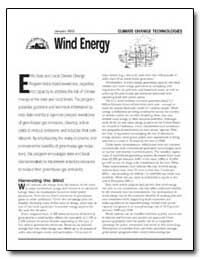 Wind Energy by Environmental Protection Agency