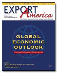 Global Economic Outlook by Churches, Cory