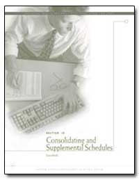 Consolidating and Supplemental Schedules by