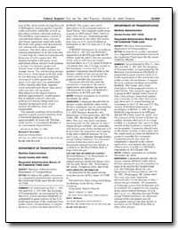 Department of Transportation Maritime Ad... by Richard, Joel C.