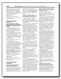 Nuclear Regulatory Commission Advisory C... by Flack, John H.