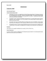 Property No. 112836 Zinc Othosilicate Ph... by
