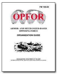 Armor- and Mechanized-Based Opposing For... by Reimer, Dennis J.