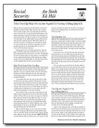 Social Security: An Sinh Xa Hoi by