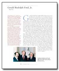 Gerald Rudolph Ford, Jr. by Ford, Gerald Rudolph, Jr.