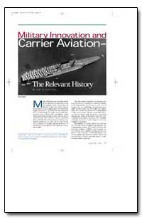 Military Innovation and Carrier Aviation by Vantol, Jan M.